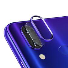 Protector lente pantalla camara anillo aluminio Xiaomi redmi note 7 7 pro AZUL
