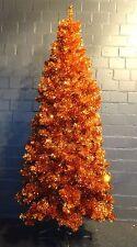 Tanne B 210cm hoch kupfer metallic - künstlicher Tannenbaum  Kunststofftanne