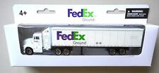 "Fedex 7"" Tractor Trailer Truck Realtoy Daron Toys Diecast Approx Ho Scale"