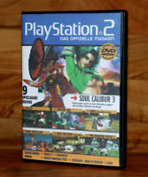 PS2 DVD Video Demo Soulcalibur 3 Need for Speed Most Wanted Tekken 5 Colosseum