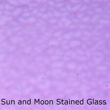 Wissmach Stained Glass Sheet Em218 - Lavender English Muffle Stained Glass Sheet