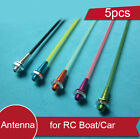 5PCS RC Boat Antenna Tube With Aluminum Alloy Antenna Base Spare Parts For RC