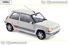 Renault Supercinq GT Turbo de 1989 Panda White NOREV - NO 185206 - Echelle 1/18