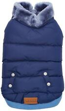 BNWT Croci Padded Jacket for Dogs - Blue - 25cm