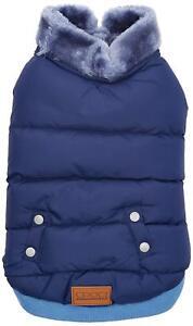 BNWT Croci Padded Jacket for Dogs - Blue - 30cm