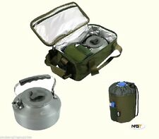 Insulated Brew Kit Bag with Kettle Gas Bag For Stove Carp Fishing Tackle Bivvy