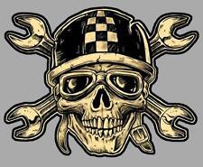 BIKER Skull Sticker