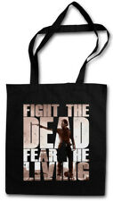 FIGHT THE DEAD FEAR THE LIVING II Shopper Shopping Bag Walking The Dead