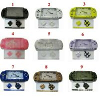 14 Colors Replacement Full Housing Shell Case Cover Kits For PSP 2000 PSP2000