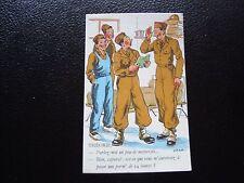FRANCE - carte postale humoristique militaire (B11) french