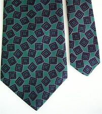"Henry Grethel Men's Silk Novelty Neck Tie Blue 3.75"" x 55"""