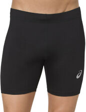 Asics Silver 7 Inch Mens Short Running Tights - Black