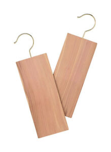 Whitmor  11-2/3 in. L x 3-1/2 in. H x 1/3 in. W Cedar Hang Ups  Brown