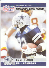 1990 Emmitt Smith Pro Set Rookie Card. Hall of Famer!!. Mint! Great Condition!!