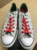 Converse All Star Holiday Canvas Ox Coloring Sneakers #658120C Junior Size 10.5
