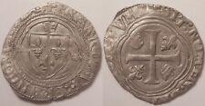 François I (1515-1547), Grand blanc à la couronne, pt 6° Tours, SUP !!