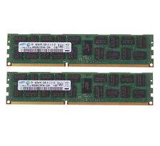 Samsung 8GB 2X 4GB DDR3 2RX4 PC3-10600R 1333MHz 240pin Reg-DIMM ECC RAM Memory