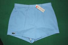 shorts LACOSTE vintage chemise tennis size 42  deadstock 1981 vilas anni 80