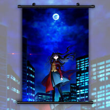 Fate stay night HD Print Anime Wall Poster Scroll Room Decor