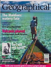 the geographical magazine-MAY 2002-THE MALDIVES WATERY FRONT.