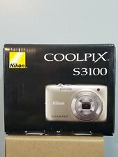 Nikon COOLPIX S3100 Digital Camera NEW IN OPENED BOX