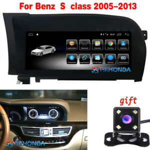 """Car GPS Radio Navigation for Mercedes Benz S Class 2005-2013 10.25"""" Android 10"""