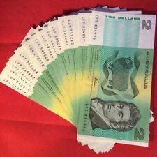 Australian Paper Decimal $2 Note Uncirculated From Bundle Sequential Suit PCGS ?