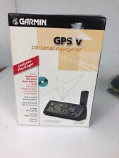 GARMIN GPS V Automotive Mountable Personal Navigator Camping Hiking Mint