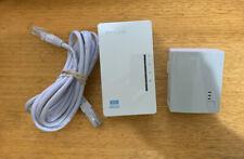 TpLink TLWPA4220KIT 300Mbps AV500 WiFi Powerline Extender Starter Kit HomePlug 5
