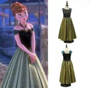 Original Disney Prinzessinen Kleid Anna Gebraucht Grösse 12A