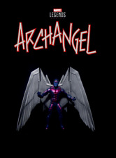 "Marvel Legends Hit-Monkey Series Wave: ARCHANGEL ML 6"" X-Men 90's Comics Figure"
