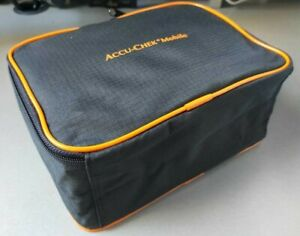 Accu-Chek Mobile Original Carry Bag as Driving Diabetes Support Case (in black)
