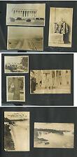 1919 TRAVEL ALBUM, 60 VINTAGE PHOTOS, WASHINGTON D.C., NIAGRA FALLS, LIGONIERE,