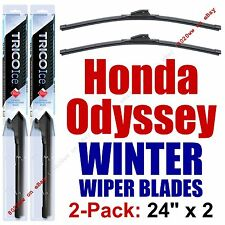 1995-1998 Honda Odyssey WINTER Wipers 2-Pack Super-Premium Beam Blades 35240x2