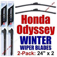1995-1998 Honda Odyssey WINTER Wipers 2-Pack Super-Premium Beam Blades 35240x2