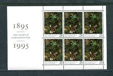 Great Britain 1607a, 1995 25p Protecting Land, Bpof6, Mnh (Gb011)