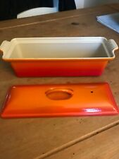 Le Creuset Cast Iron Rectangular Oven Pan with Lid 32x11 cm