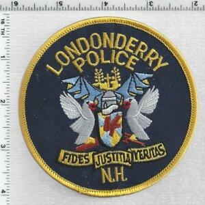 Londonderry Police (New Hampshire) 2nd Issue Shoulder Patch