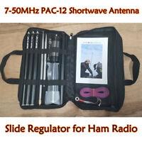 7-50MHz PAC-12 Shortwave Antenna Outdoor Antenna + Slide Regulator for Ham Radio