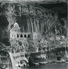 FIRA c. 1960 - Maisons Troglodytes Île de Santorin Grèce - Div 5813