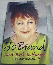 Look Back in Hunger, Jo Brand First Edition Hardback 2009
