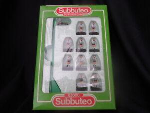 VINTAGE SUBBUTEO 63000 BOXED  8 NEWCASTLE / DUNFERMLINE POAK