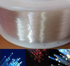 Indoor Decoration Light End Glow Fiber Optic Cable 0.75/1/1.5/2mm for Car & Home