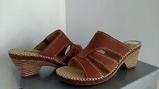 Ladies Gabor Sandals Nubuk Cognas  US SZ  4.5,UK 2.5