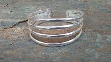Sterling Silver Overlay Bracelet Made by Artesanas Campesinas in Mexico 008 NEW