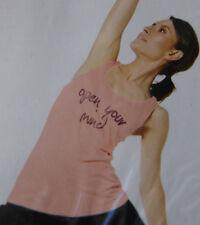 Damen Yoga Top rosa GR.M  40/42 NEU OVP