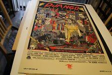 Tyler Stout Django Unchained Poster Print Mondo Signed Rare Cinema Tarantino