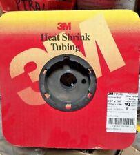 """3M Fp-301 3/8"""""""" 100' Heat Shrink Tube 100ft (RED)"""