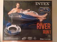 Intex River Run I Sport Inflatable Water Lounge 53-Inch Diameter Heavy Duty NIB