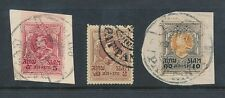 THAILAND SIAM PATTANI POSTMARKS 3 stamps